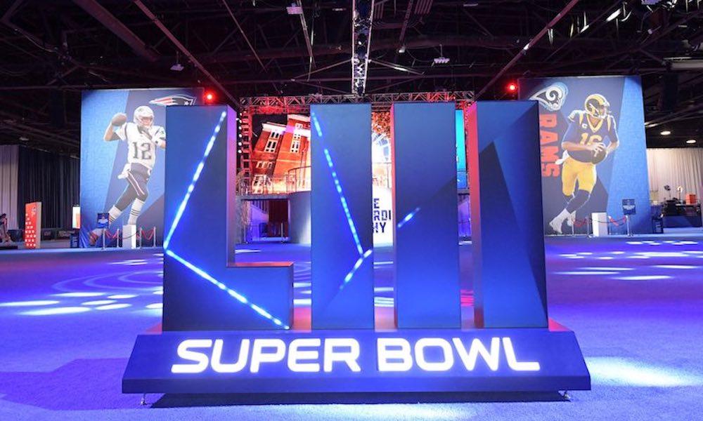 super bowl rams patriots